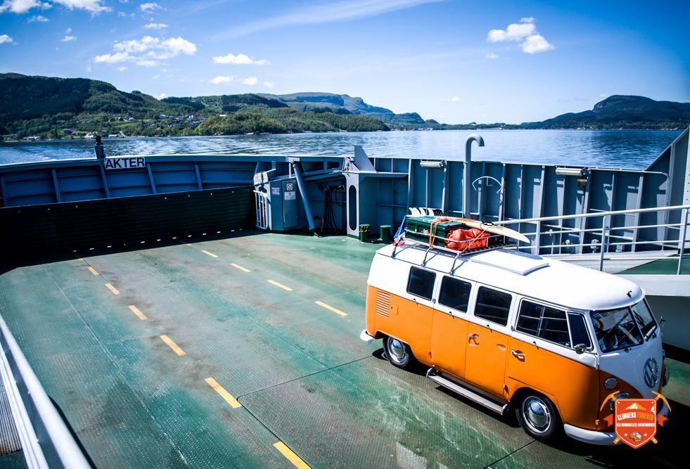 Des traversiers de partout dans le labyrinthe des fjords, bien pratique et fun!