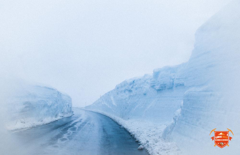 Une hauteur de neige et un froid parfait pour garder des stations de ski nordique ouvertes à cette époque