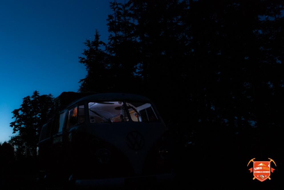 Et cette fois ci plus de panne! Les nuits recommencent à tomber, voilà nos Demoiselles aux portes du Danemark sur la route du retour...
