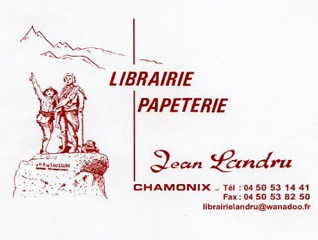 librairie landru chamonix